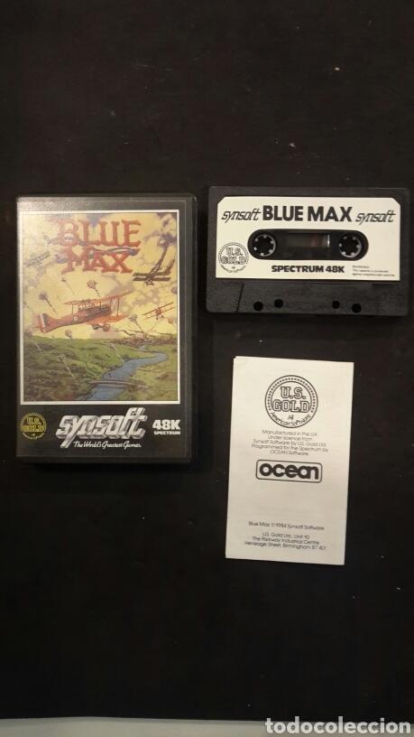 JUEGO SPECTRUM 48K BLUE MAX (Juguetes - Videojuegos y Consolas - Spectrum)