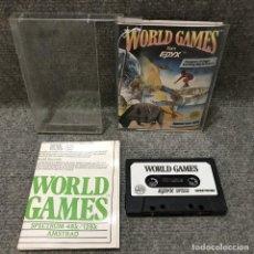 Videojuegos y Consolas: WORLD GAMES ZX SPECTRUM. Lote 111837482