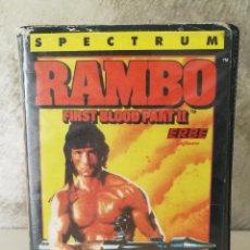 Videojuegos y Consolas: JUEGO RAMBO EN ESTUCHE SPECTRUM. Lote 112073623