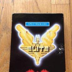 Videojuegos y Consolas: JUEGO ELITE SPECTRUM, FIREBIRD, COMPLETO DIFICIL. Lote 113077803