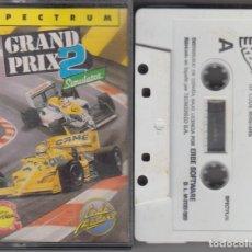 Videojuegos y Consolas: GRAND PRIX 2 SIMULATOR VIDEOJUEGO CASSETTE SPECTRUM 1989. Lote 114934055