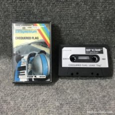 Videojuegos y Consolas: CHEQUERED FLAG ZX SPECTRUM. Lote 115195356