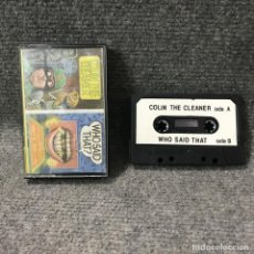Videojuegos y Consolas: COLIN THE CLEANER WHO SAID THAT ZX SPECTRUM. Lote 115195372