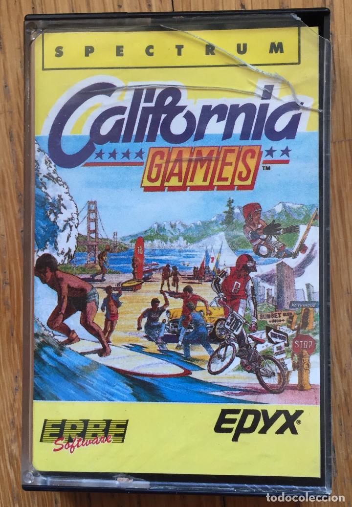 JUEGO SPECTRUM CALIFORNIA GAMES, ERBE (Juguetes - Videojuegos y Consolas - Spectrum)
