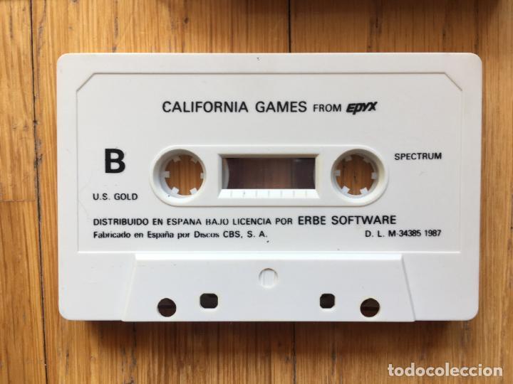 Videojuegos y Consolas: JUEGO SPECTRUM CALIFORNIA GAMES, Erbe - Foto 2 - 115366899
