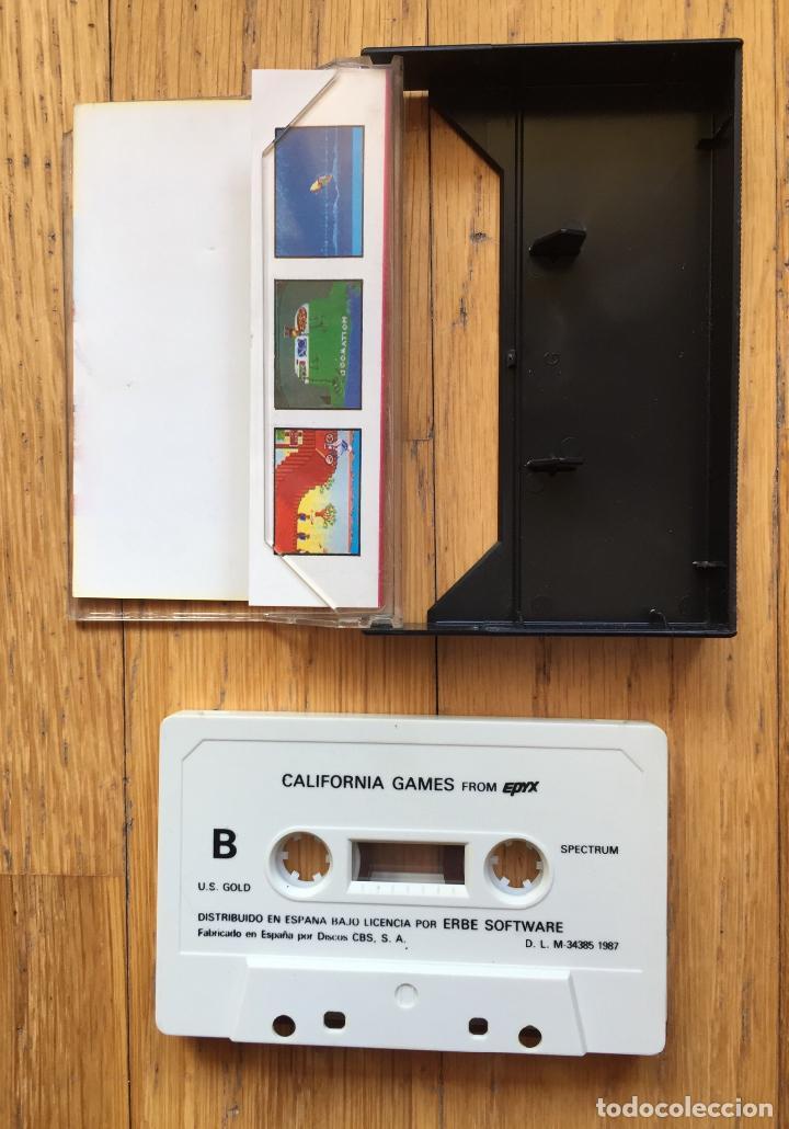 Videojuegos y Consolas: JUEGO SPECTRUM CALIFORNIA GAMES, Erbe - Foto 3 - 115366899