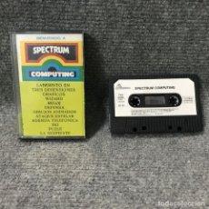 Videojuegos y Consolas: SPECTRUM COMPUTING ZX SPECTRUM. Lote 115437282