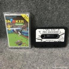 Videojuegos y Consolas: PRO SNOOKER ZX SPECTRUM. Lote 115545456