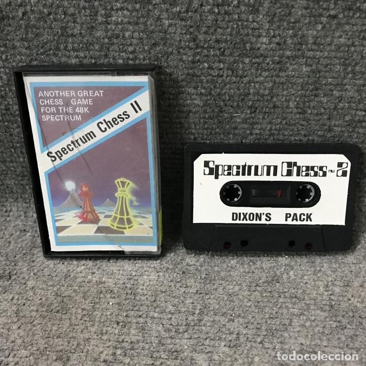 SPECTRUM CHESS II ZX SPECTRUM (Juguetes - Videojuegos y Consolas - Spectrum)