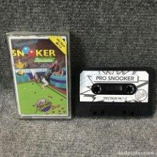 Videojuegos y Consolas: PRO SNOOKER ZX SPECTRUM. Lote 115545950
