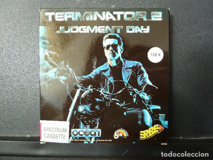 JUEGO - SPECTRUM - TERMINATOR 2 (Juguetes - Videojuegos y Consolas - Spectrum)
