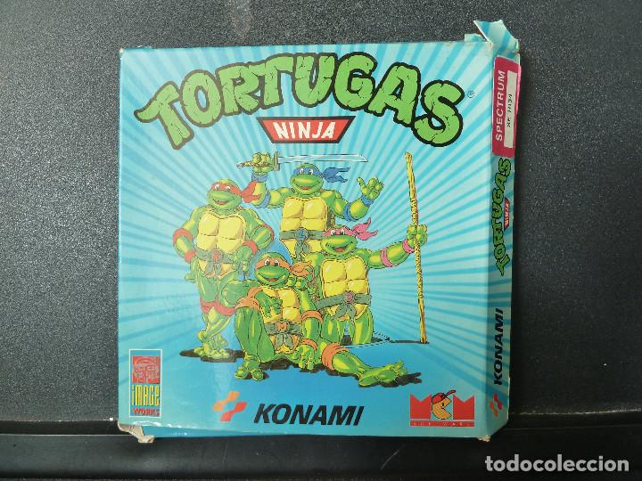JUEGO - SPECTRUM - TORTUGAS NINJA (Juguetes - Videojuegos y Consolas - Spectrum)