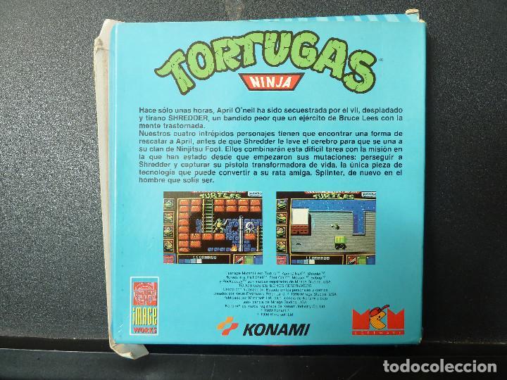 Videojuegos y Consolas: JUEGO - SPECTRUM - TORTUGAS NINJA - Foto 2 - 115694787