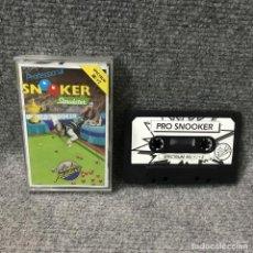 Videojuegos y Consolas: PRO SNOOKER ZX SPECTRUM. Lote 115720302
