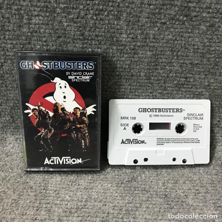 GHOSTBUSTERS ZX SPECTRUM (Juguetes - Videojuegos y Consolas - Spectrum)