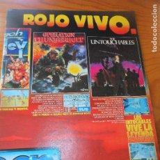 Videojogos e Consolas: MICROMANIA 2ª EPOCA Nº 21 1989- ATARI, SPECTRUM, AMSTRAD: CAPITAN TRUENO, TUSKER, BLACK TIGER. Lote 115863251