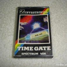 Videojuegos y Consolas: SPECTRUM. INVESTRONICA JUEGO: TIME GATE - ZX SPECTRUM. Lote 115940283