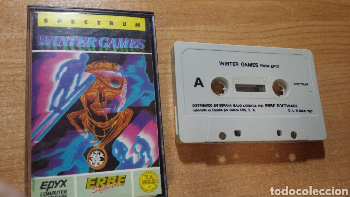 Videojuegos y Consolas: WINTER GAMES-SPECTRUM - Foto 1 - 115969492