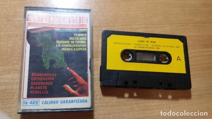 LOAD N RUN - SPECTRUM (Juguetes - Videojuegos y Consolas - Spectrum)