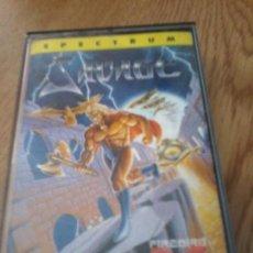 Videojuegos y Consolas: GAME SPECTRUM MCM SAVAGE SPANISH VERSION 1988 FIREBIRD. Lote 116765783