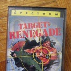 Videojuegos y Consolas: JUEGO TARGET RENEGADE PARA SPECTRUM . Lote 117060047