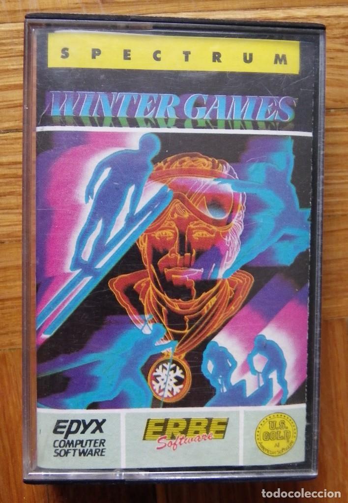 JUEGO WINTER GAMES PARA SPECTRUM (Juguetes - Videojuegos y Consolas - Spectrum)