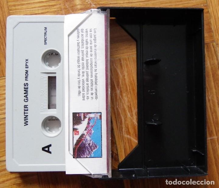 Videojuegos y Consolas: JUEGO WINTER GAMES PARA SPECTRUM - Foto 2 - 117126071
