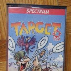 Videojuegos y Consolas: JUEGO TARGET PLUS PARA SPECTRUM. Lote 117152915