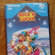 Videojuegos y Consolas: JUEGO ROCK`N LUCHA PARA SPECTRUM. Lote 117154499