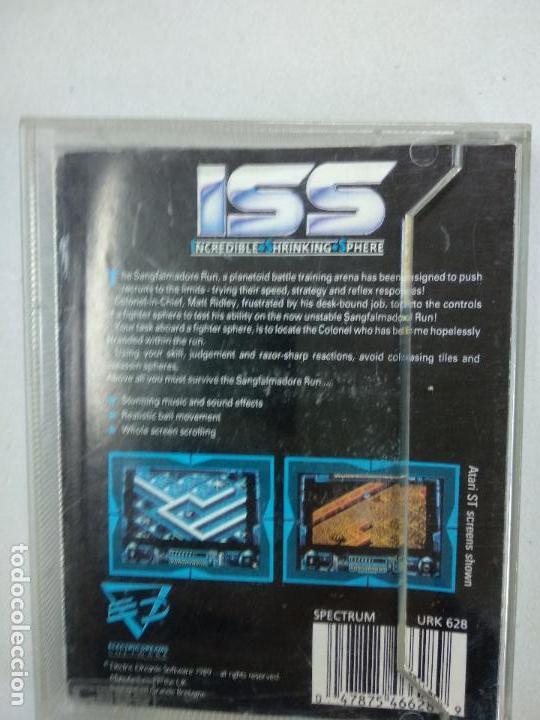 Videojuegos y Consolas: ISS - SPECTRUM - Spectrum ZX - Foto 2 - 117556575