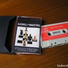 Videojuegos y Consolas: SINCLAIR AJEDREZ PARA MAESTROS 48 K FULL MEMORY 1984 MADE IN SPAIN C-2-B SOFTMAGAZINE CASSETTE CASET. Lote 117847255