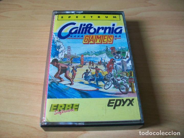 JUEGO SPECTRUM CALIFORNIA GAMES (Juguetes - Videojuegos y Consolas - Spectrum)