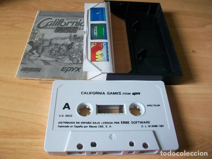 Videojuegos y Consolas: Juego spectrum California Games - Foto 2 - 118148523