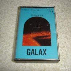 Videojuegos y Consolas: SPECTRUM. GALAX (SOFTWARE MAGAZINE) - SINCLAIR 48 K. Lote 118623703