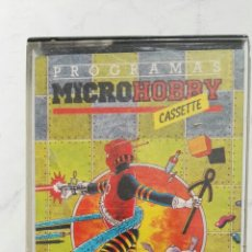 Videojuegos y Consolas: PROGRAMAS MICROHOBBY CASSETTE SINCLAIR SPECTRUM AÑO I N° 1. Lote 118687146