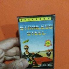 Videojuegos y Consolas: JUEGO DE SPECTRUM STRINLESS STEEL. Lote 118688435