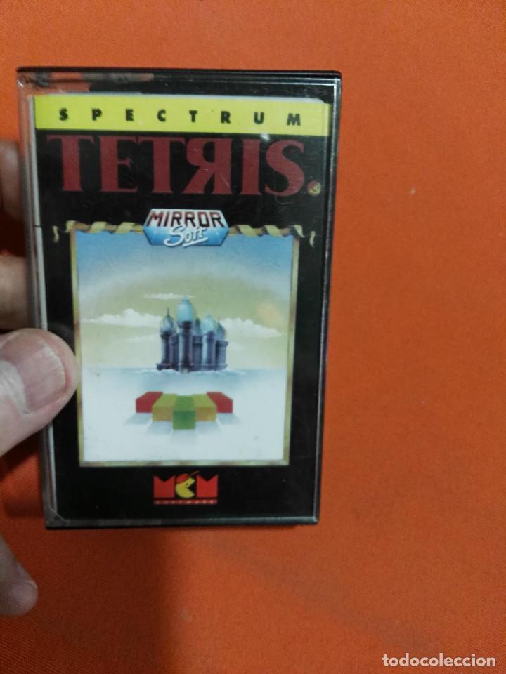 JUEGO DE SPECTRUM TETRIS (Juguetes - Videojuegos y Consolas - Spectrum)