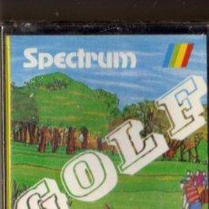 Videojuegos y Consolas: GOLF ZX SPECTRUM MONSER CINTA CASSETTE PRECINTADO. Lote 119042679