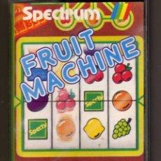 Videojuegos y Consolas: FRUIT MACHINE SPECTRUM MONSER CINTA CASSETTE . Lote 119042779