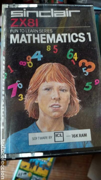 MATHEMATICS ZX81 SINCLAIR (Juguetes - Videojuegos y Consolas - Spectrum)