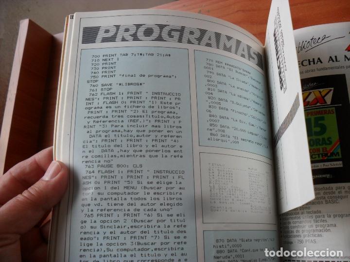 Videojuegos y Consolas: revistas ZX sinclair spectrun precio unidad EN MUY BUEN ESTADO,leer numeros,precio unidad - Foto 8 - 212891423