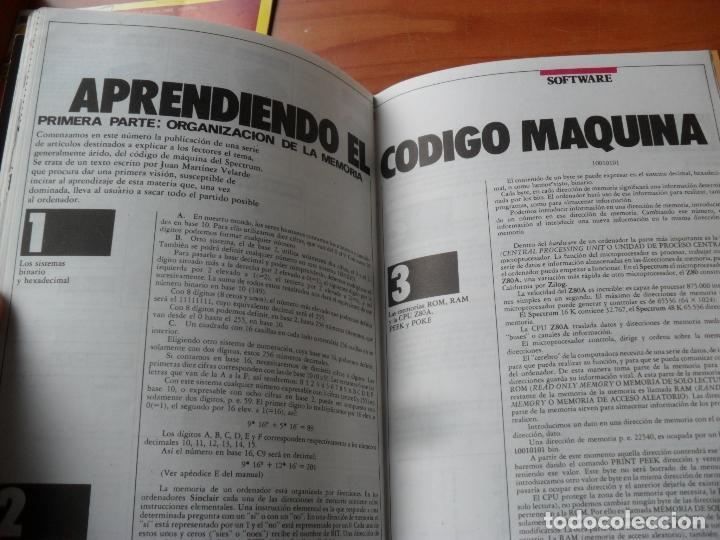 Videojuegos y Consolas: revistas ZX sinclair spectrun precio unidad EN MUY BUEN ESTADO,leer numeros,precio unidad - Foto 10 - 212891423