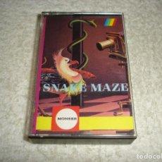 Videojuegos y Consolas: SPECTRUM. SNAKE MAZE (SOFTWARE MAGAZINE MONSER) - SINCLAIR 48 K. Lote 119384511