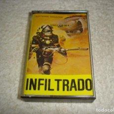 Videojuegos y Consolas: SPECTRUM. INFILTRADO (SOFTWARE MAGAZINE) - SINCLAIR 48 K. Lote 119466963