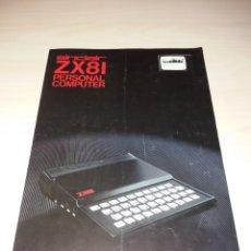 Videojuegos y Consolas: ANTIGUO FOLLETO SINCLAIR ZX81. Lote 120032264