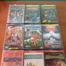 Videojuegos y Consolas: PACK JUEGOS SPECTRUM.. Lote 120127531
