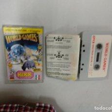 Videojuegos y Consolas: WORLD GAMES - SPECTRUM ZX. Lote 121593151