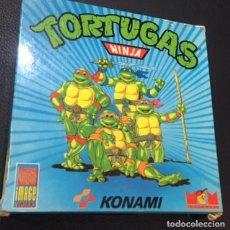 Videojuegos y Consolas: JUEGO DE ORDENADOR SPECTRUM +3 TORTUGAS NINJA MCM. Lote 122444515