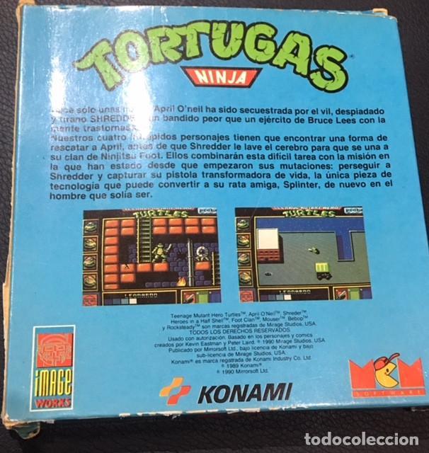 Videojuegos y Consolas: juego de ordenador spectrum +3 tortugas ninja mcm - Foto 2 - 122444515