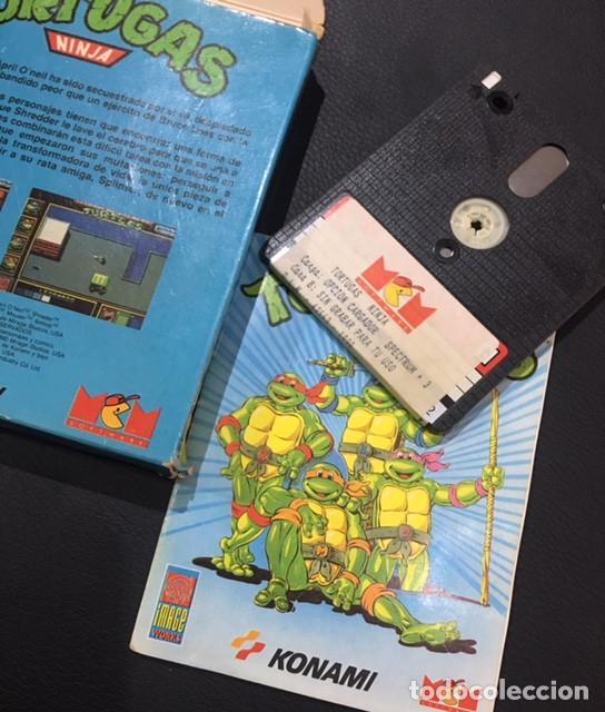 Videojuegos y Consolas: juego de ordenador spectrum +3 tortugas ninja mcm - Foto 3 - 122444515
